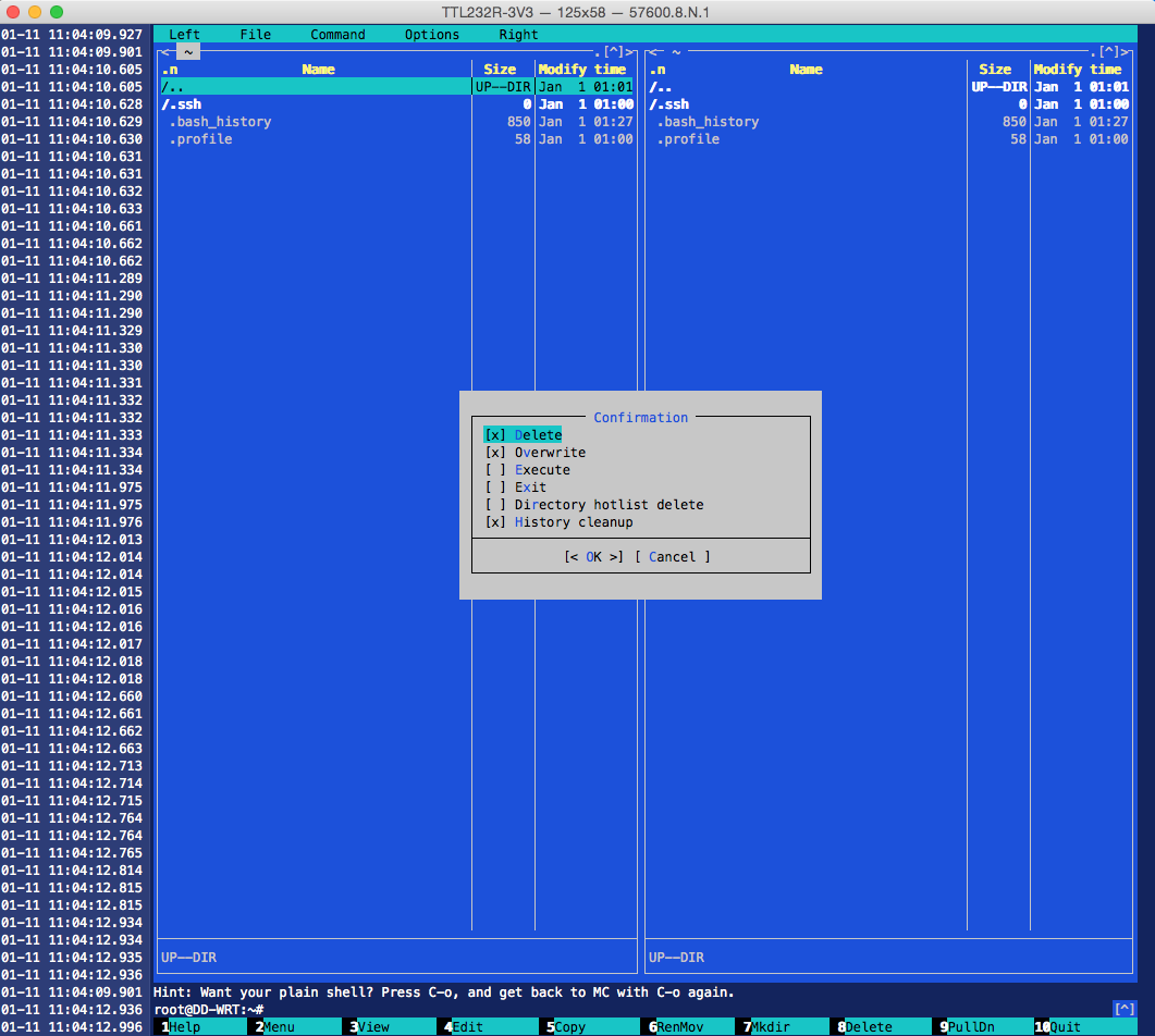3048 (mc displayes differently directories in face of xterm-256color